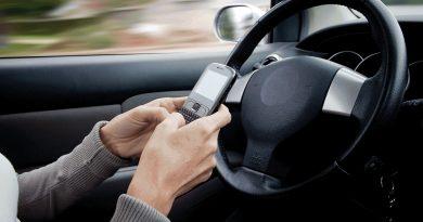 Celular e direção: Detran aplica mais de 80 mil multas