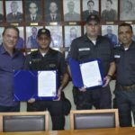PMs são homenageados por resgate heroico de crianças em Niterói